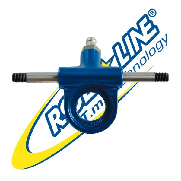 Roll Line - Truck with steel axle - blue